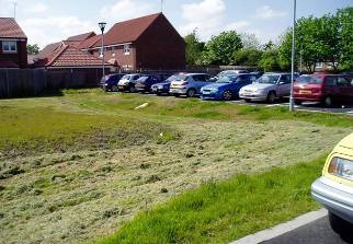 Figure 5  Car park collection SuDS swale