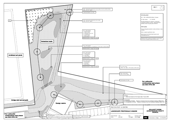 Figure 2 Melton SuDS site map